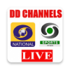 DD Channels DD National Live DD Sports Cricket TV